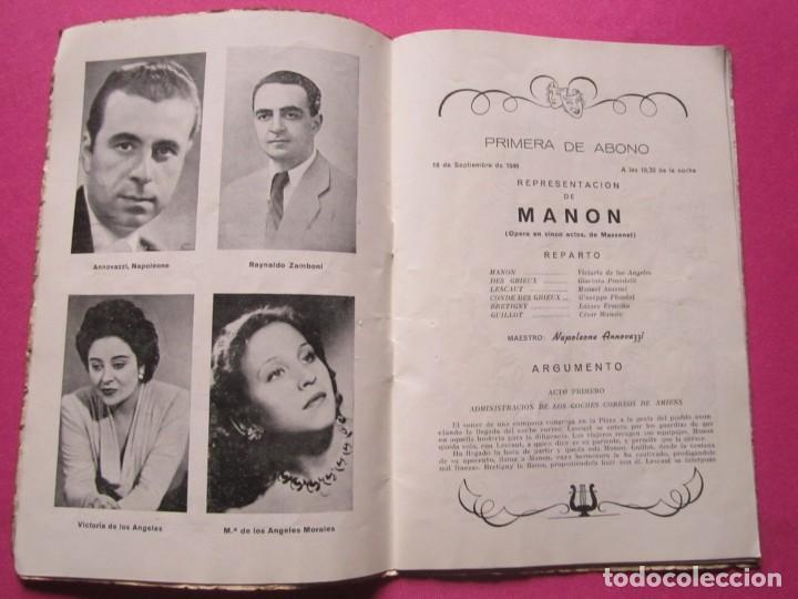 Folletos de turismo: INAGURACIOS DEL TEATRO CAMPOAMOR DE OVIEDO PROGRAMA AÑO 1948 - Foto 4 - 183673687