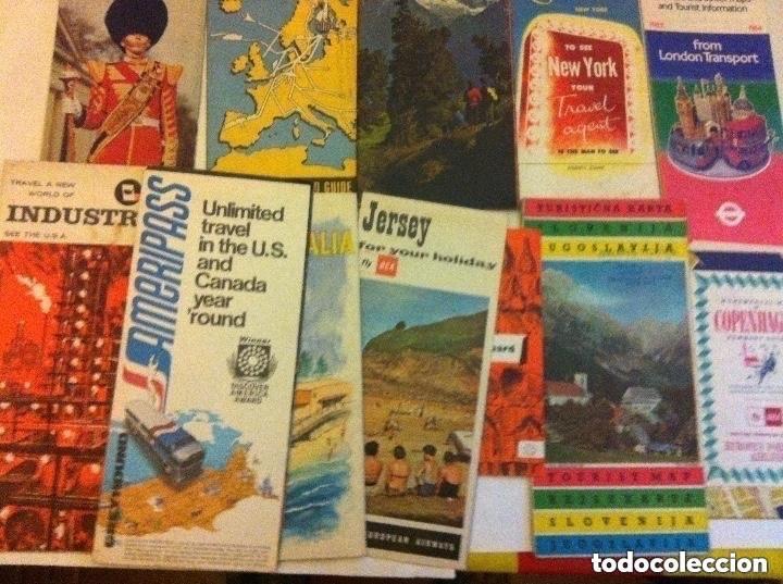 Folletos de turismo: folletos turismo -lote de 13 - antiguos - (en inglés - Foto 2 - 183773515