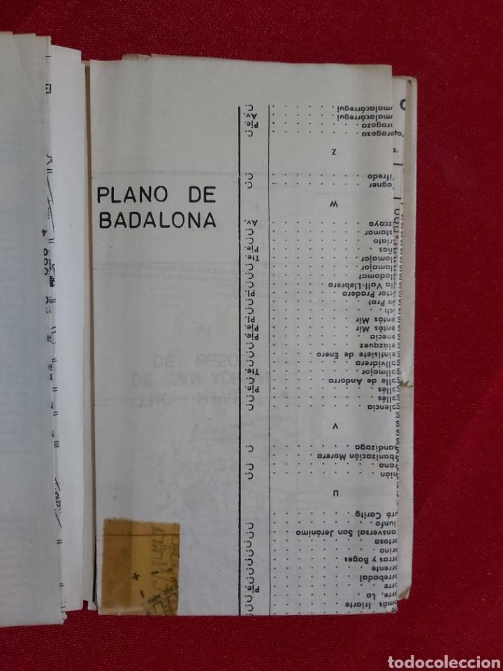 Folletos de turismo: SUPLEMENTO DE LA GUIA URBANA DE BARCELONA 1965 - Foto 3 - 183853998