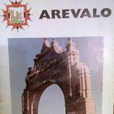 Folletos de turismo: AREVALO. Lote 184754822