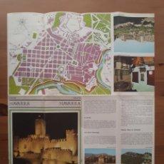 Folletos de turismo: FOLLETO TURISMO NAVARRA. Lote 184902678