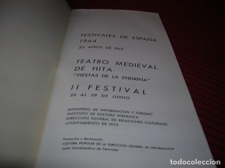 Folletos de turismo: Catálogo Festivales de España,25 años de Paz,Año 1964 - Foto 2 - 186082000
