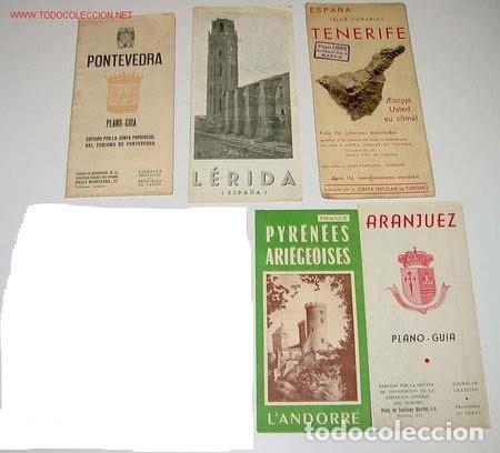 Folletos de turismo: 14 ANTIGUOS FOLLETOS DE TURISMO DE ESPAÑA - AÑOS 30-40 - ENTRE OTROS LOS DE GRAN CANARIA - SEGOVIA - - Foto 4 - 26011979