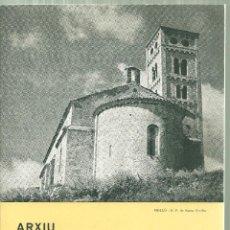 Folletos de turismo: 1576.- ARXIU D`ESGLESIAS DEL RIPOLLES - GAVIN TOUS RIPOLL 1975. Lote 186379937