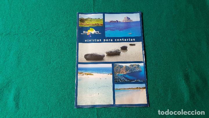 FOLLETO ISLAS BALEARES - ILLES BALEARS (AÑOS 80) (Coleccionismo - Folletos de Turismo)