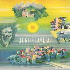 Folletos de turismo: JUSGOSLAVIJA. CATÁLOGO DE TURISMO, 1959. EN YUGUSLAVO.(Z/9). Lote 186453643