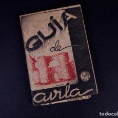 Folletos de turismo: GUÍA DE AVILA. AVILA 1946. Lote 187301311