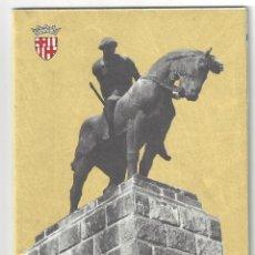 Folletos de turismo: PLANO GUÍA DESPLEGABLE DE BARCELONA- 1965 (EN FRANCÉS). Lote 187324300