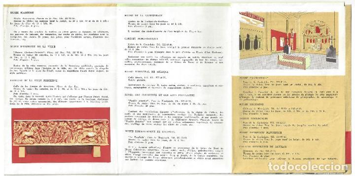Folletos de turismo: PLANO GUÍA DESPLEGABLE DE BARCELONA- 1965 (EN FRANCÉS) - Foto 7 - 187324300
