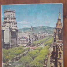 Folletos de turismo: PLANO GUÍA BARCELONA 1957 EN PERFECTO ESTADO. Lote 187431202