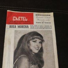 Folletos de turismo: REVISTA CARTEL, GUÍA COSTA BLANCA 1967. Lote 188838212