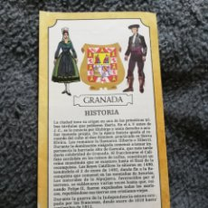 Brochures de tourisme: EL MEDICO VIAJA. GRANADA. NUMERO 20. Lote 190495453