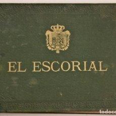 Folletos de turismo: LIBRO DE FOTOGRAFÍAS EL ESCORIAL MUY ANTIGUO SIN FECHAR - 24 FOTOGRAFÍAS. Lote 190615210