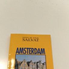 Folletos de turismo: GUÍA DE ÁMSTERDAM, SALVAT. Lote 190820891