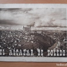 Folletos de turismo: EL ALCAZAR DE TOLEDO. HUECOGRABADO ARTE-BILBAO. DIRECCIÓN GENERAL DEL TURISMO.. Lote 191525346