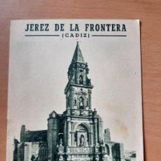Folletos de turismo: FOLLETO TURISMO JEREZ DE LA FRONTERA. . Lote 191533623