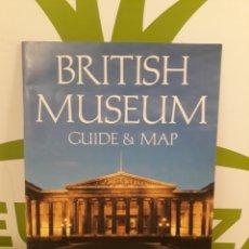 Folletos de turismo: BRITISH MUSEUM.GUIDE & MAP.. Lote 191580350