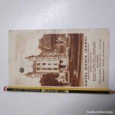 Folletos de turismo: HOTEL MARIA ISABEL BURGOS. Lote 191630408