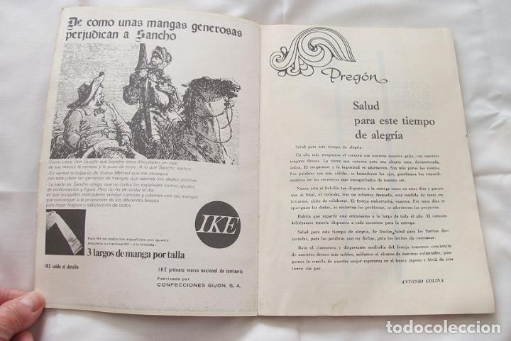 Folletos de turismo: FOLLETO FIESTAS 1972 EL ENTREGO ASTURIAS - Foto 3 - 191807268