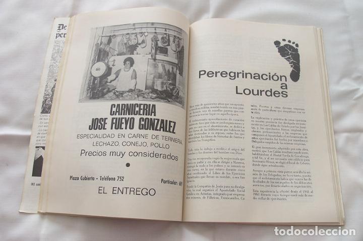 Folletos de turismo: FOLLETO FIESTAS 1972 EL ENTREGO ASTURIAS - Foto 4 - 191807268