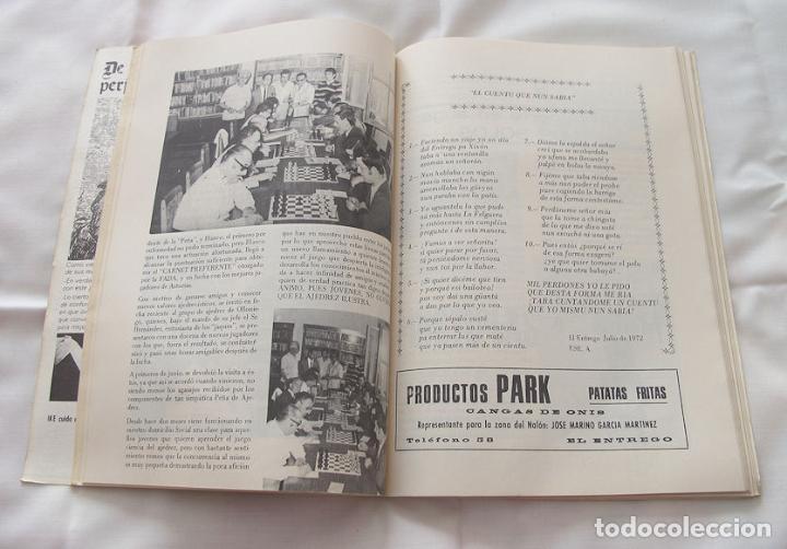 Folletos de turismo: FOLLETO FIESTAS 1972 EL ENTREGO ASTURIAS - Foto 5 - 191807268