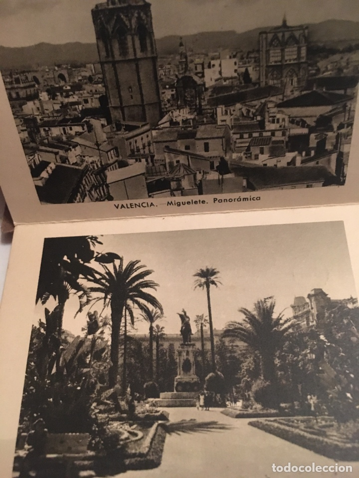 Folletos de turismo: FOTOGRAFÍAS PRIMERA SERIE RECUERDO DE VALENCIA - Foto 2 - 191826228