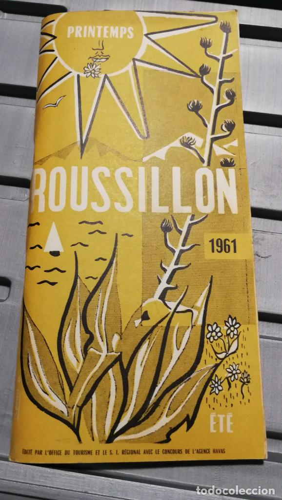 GUIA DE VIAJE ROUSSILLON (Coleccionismo - Folletos de Turismo)
