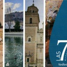 Folletos de turismo: LAS SIETE MARAVILLAS DE VÉLEZ RUBIO. IMPRENTA DIPUTACIÓN DE ALMERÍA. ALMERÍA. 2012. PP. 18 . Lote 191903183