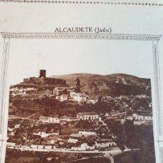Folletos de turismo: ALCAUDETE, JAÉN. *PAÍS DE ARTE Y DE TURISMO*. CARTA SOBRE. . Lote 191979486
