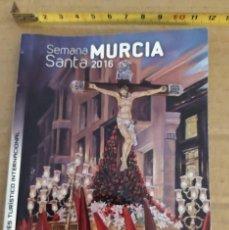 Folletos de turismo: FOLLETO DE LA SEMANA SANTA DEL 2016 EN MURCIA CADENA SER. Lote 191993658