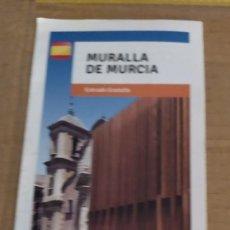 Folletos de turismo: FOLLETO DE TURISMO LA MURALLA DE MURCIA TURISMO ACTIVO. Lote 191993746