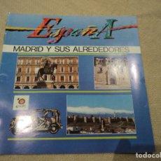 Folletos de turismo: MADRID Y SUS ALREDEDORES. Lote 192168588