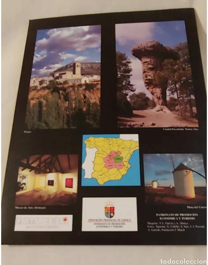 Folletos de turismo: Rutas de Cuenca 2001 la Alcarria la Sierra y La Mancha - Foto 2 - 192227918