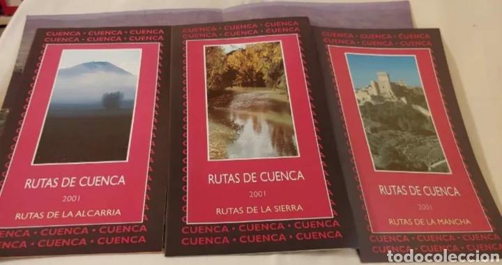 Folletos de turismo: Rutas de Cuenca 2001 la Alcarria la Sierra y La Mancha - Foto 4 - 192227918
