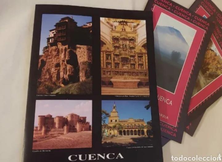 RUTAS DE CUENCA 2001 LA ALCARRIA LA SIERRA Y LA MANCHA (Coleccionismo - Folletos de Turismo)