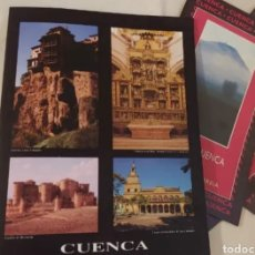 Folletos de turismo: RUTAS DE CUENCA 2001 LA ALCARRIA LA SIERRA Y LA MANCHA. Lote 192227918