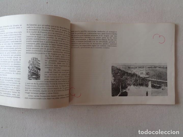 Folletos de turismo: ALICANTE.MERCANTIL E INDUSTRIAL EN LAS FERIAS DE VALENCIA Y BARCELONA DE 1944 .-857 - Foto 3 - 193276288