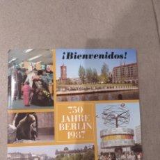 Folletos de turismo: FOLLETO TURISTICO DE BERLIN DEL AÑO 1987. Lote 193631047