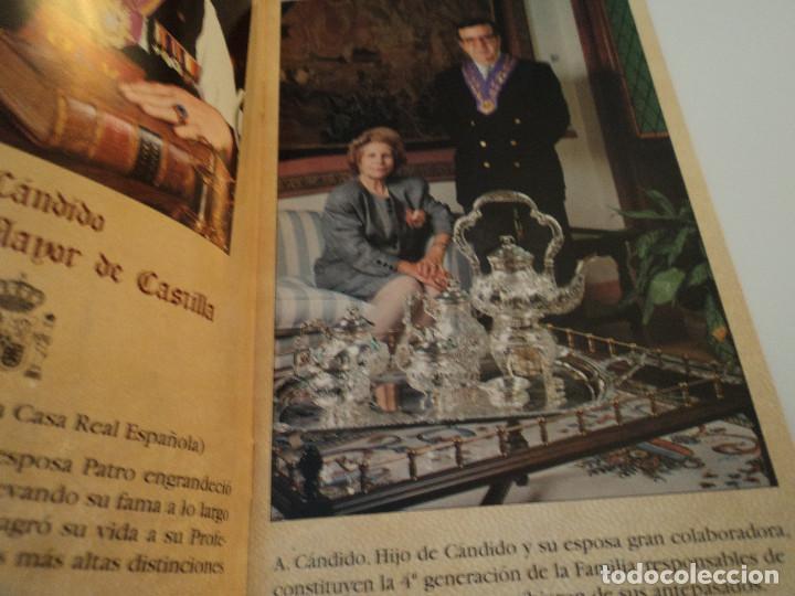 Folletos de turismo: Antiguo folleto mesón Cándido, firmado - Foto 3 - 193681960