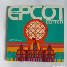 Foglietti di turismo: EPCOT CENTER DISNEY WORLD MAPA AÑOS 80 PUBLICIDAD KODAK. Lote 193977525