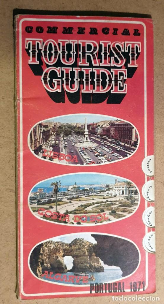 PORTUGAL 1971 - TOURIST GUIDE (Coleccionismo - Folletos de Turismo)