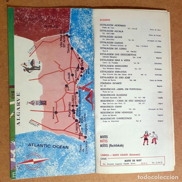 Folletos de turismo: PORTUGAL 1971 - TOURIST GUIDE - Foto 4 - 194011377