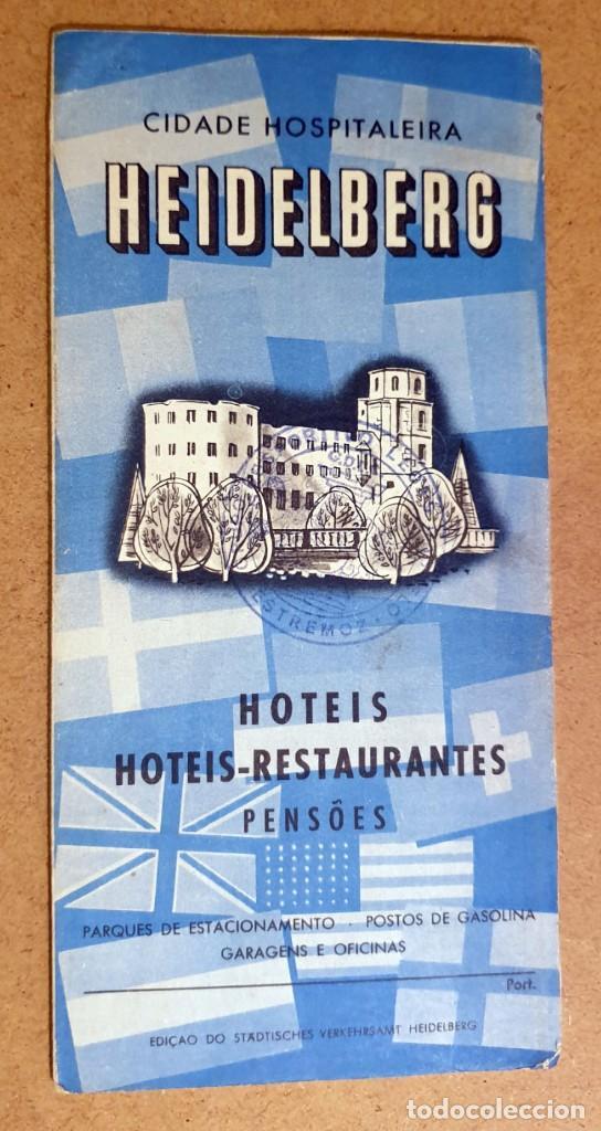 HEIDELBERG - (DOCUMENTO ANTIGUO) (Coleccionismo - Folletos de Turismo)