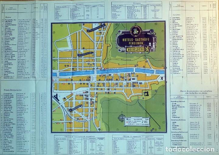 Folletos de turismo: HEIDELBERG - (DOCUMENTO ANTIGUO) - Foto 4 - 194011696