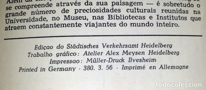 Folletos de turismo: HEIDELBERG - (DOCUMENTO ANTIGUO) - Foto 5 - 194011696
