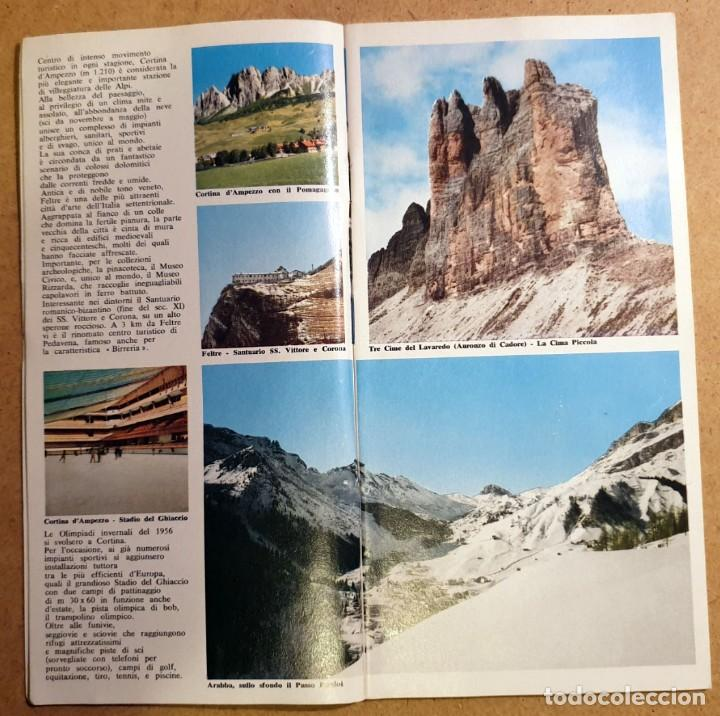Folletos de turismo: DOLOMITI - (DOCUMENTO ANTIGUO) - Foto 6 - 194011856