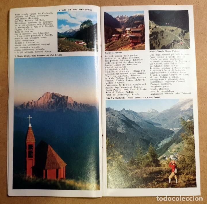 Folletos de turismo: DOLOMITI - (DOCUMENTO ANTIGUO) - Foto 7 - 194011856