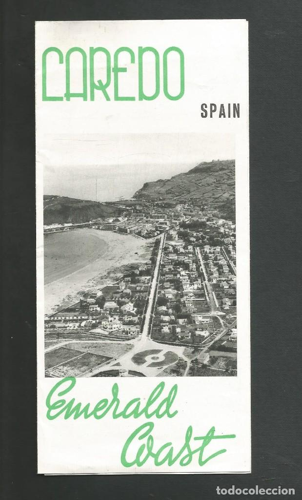 FOLLETO DE TURISMO LAREDO - SANTANDER AÑO 1961 (Coleccionismo - Folletos de Turismo)