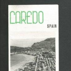 Folletos de turismo: FOLLETO DE TURISMO LAREDO - SANTANDER AÑO 1961. Lote 194201161