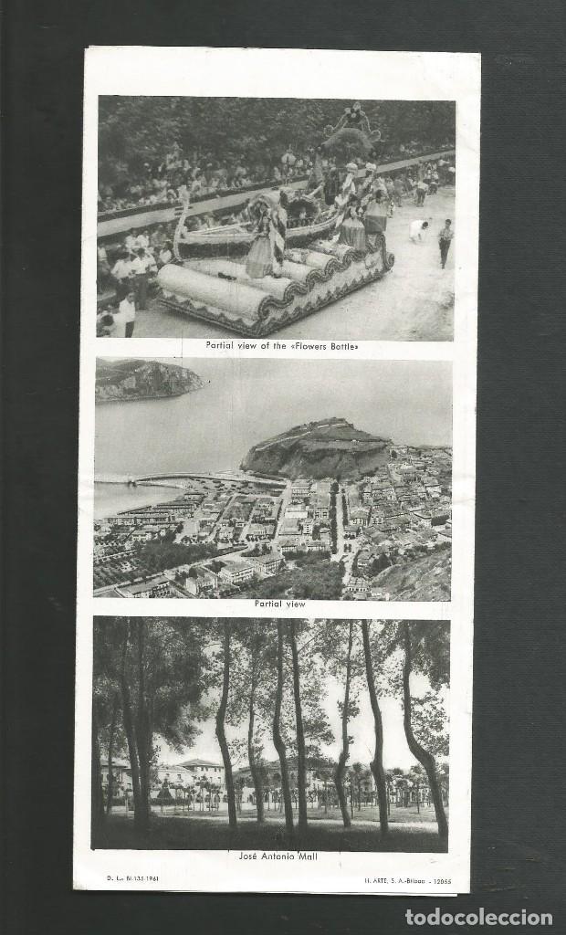 Folletos de turismo: FOLLETO DE TURISMO LAREDO - SANTANDER AÑO 1961 - Foto 2 - 194201161